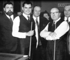 Ray Reardon and Fred Davis