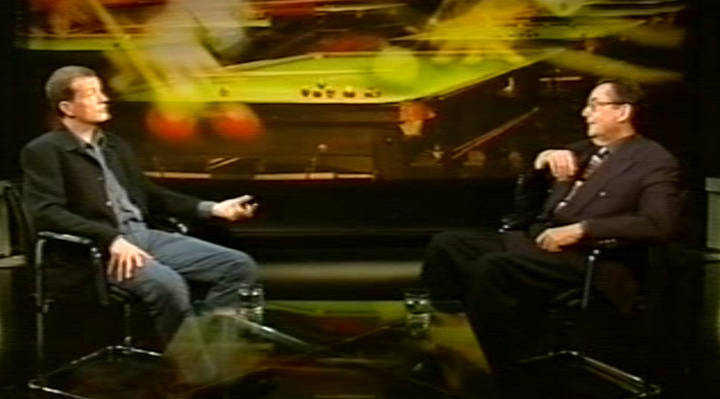 Ray Reardon chats to Steve Davis