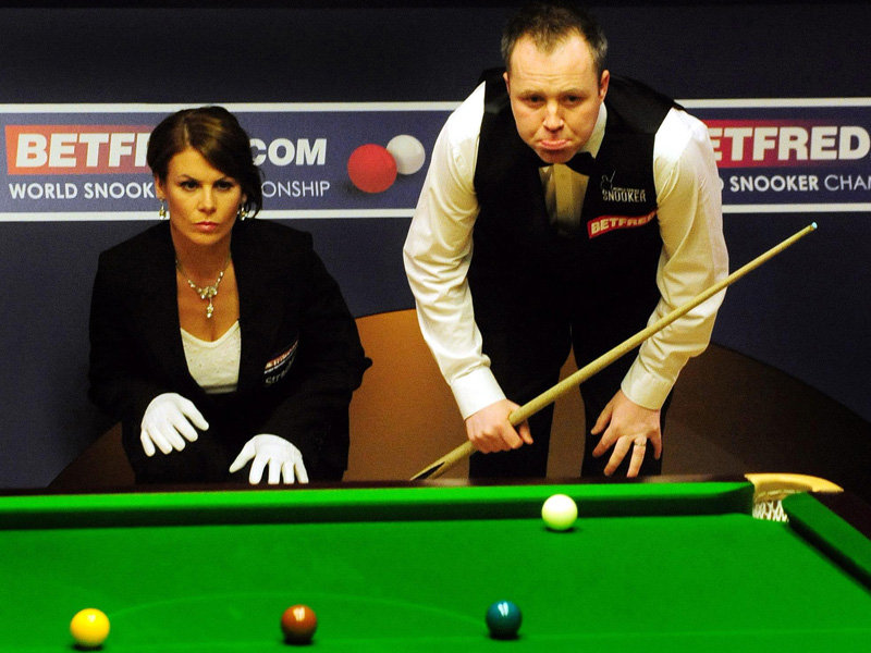 john higgins ref. position as John Higgins