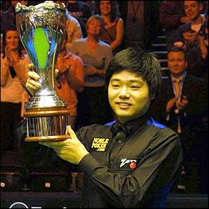 Ding Junhui won his second UK title this season