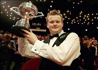 Shaun Murphy has already won the game's two most important tournaments