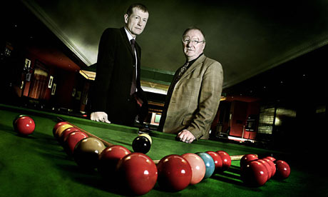 Steve Davis and Dennis Taylor