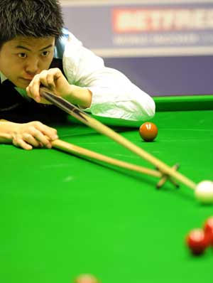 Liang Wenbo has improved considerably this season